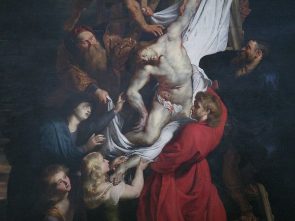 Facebook запрещает публиковать 400-летнюю картину с голым Иисусом